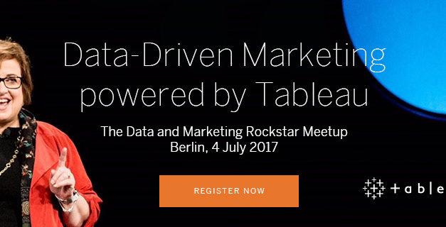Data Driven Marketing Meetup mit Tableau