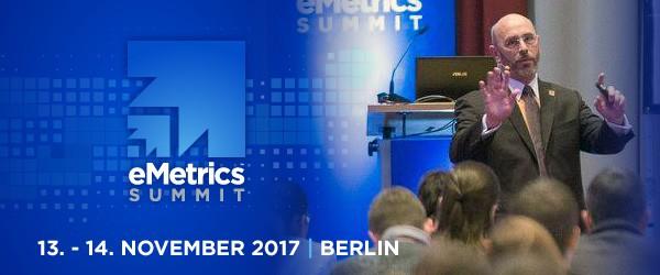 eMetrics Summit in Berlin im November 2017